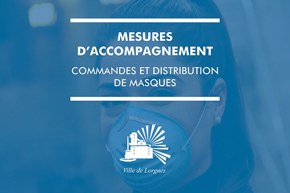 Commandes & distribution de masques