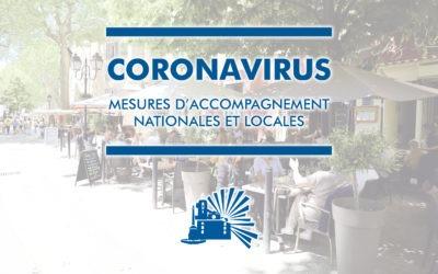 Coronavirus : Mesures d'accompagnement nationales et locales