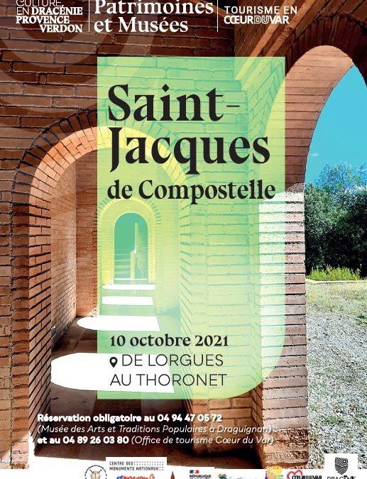 Randonnée sur les pas de Saint-Jacques de Compostelle – Lorgues