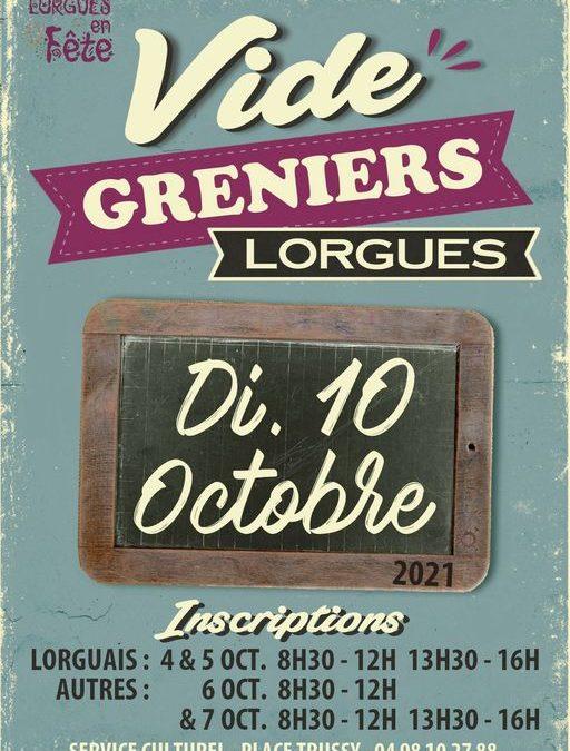 Vide-Greniers – Lorgues